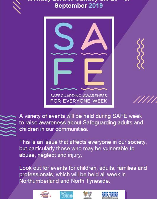 SAFE Week 2019 – Update