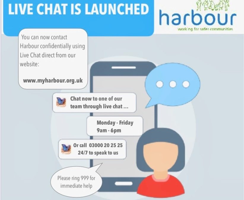 You can now Contact Harbour via livechat